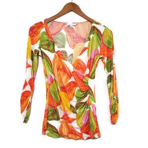 Cabi Women's Wrap Blouse Size S #579